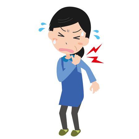 Shoulder hurts Vettoriali