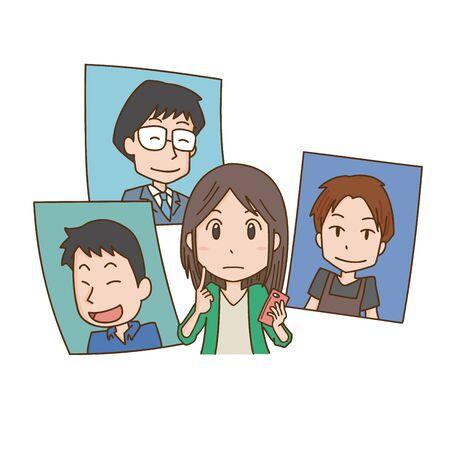 Image illustration of marriage
