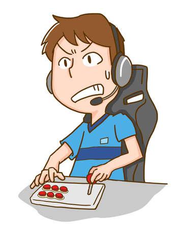Men who play eSports