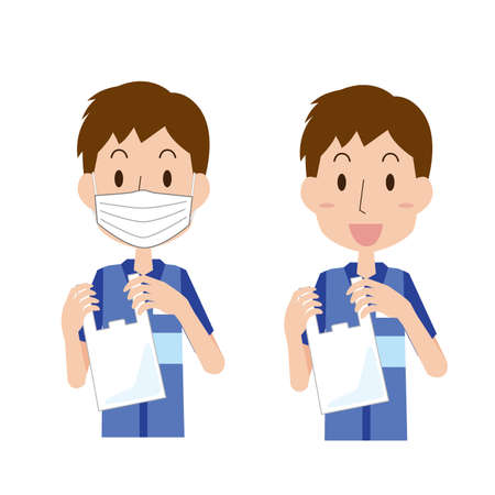 Pay for plastic bags  イラスト・ベクター素材