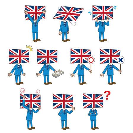 British Flag Character Set