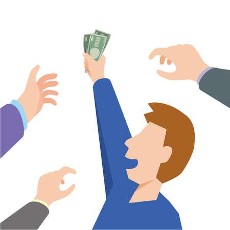 a man who wins money