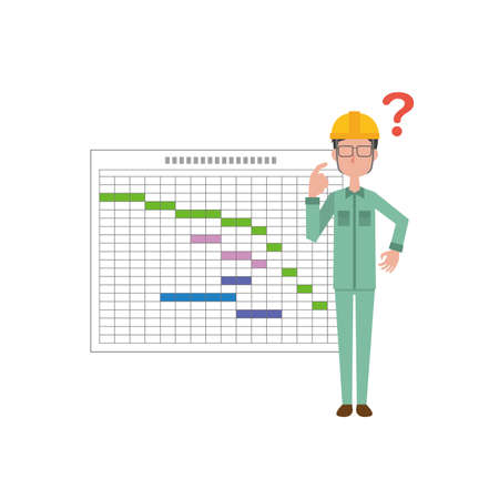 Male field supervisors and schedules with doubts