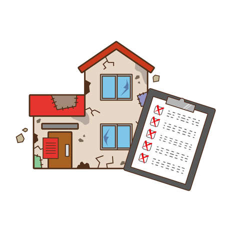 Check sheets and dilapidated single-family homes