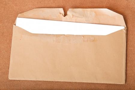 postscript: mailing envelope