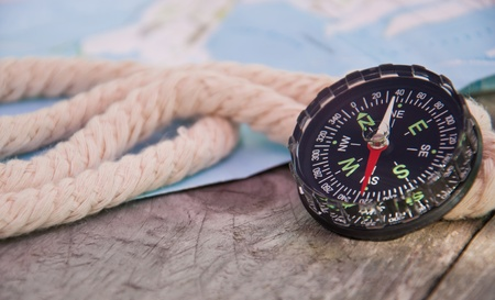Rope and compass photo