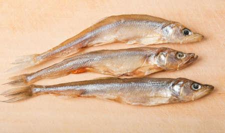 smelt: smelt small fresh fish background Stock Photo