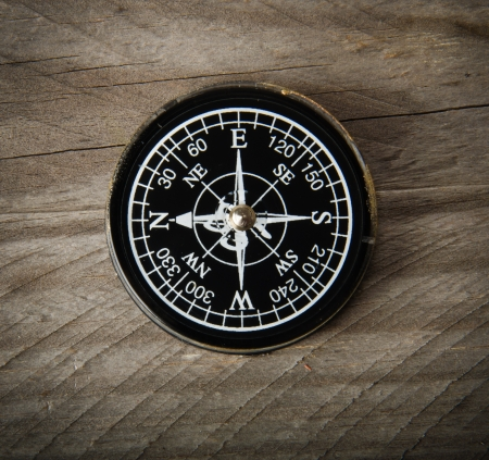 Old compass photo