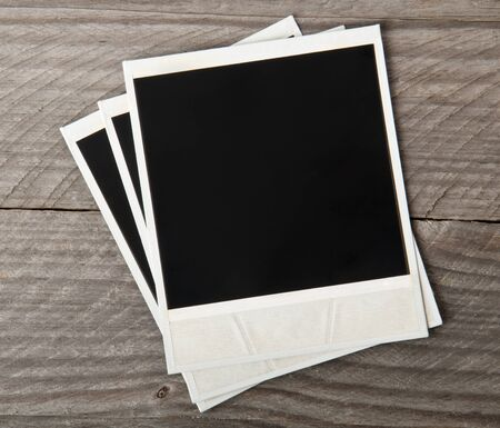 confines: old photo frame Stock Photo