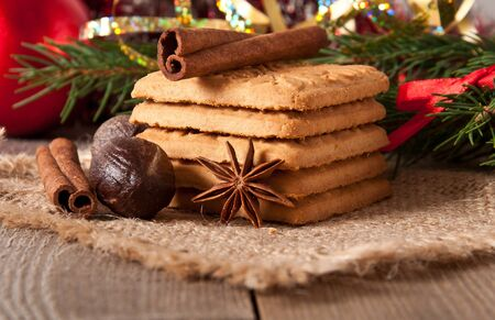 Christmas cookies Stock Photo - 16339135