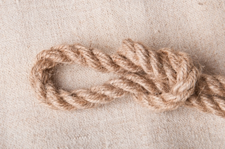 node from the rope Stock Photo - 17280390