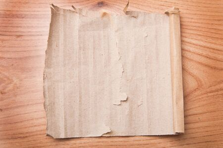 old paper on wood background Stock Photo - 17665752
