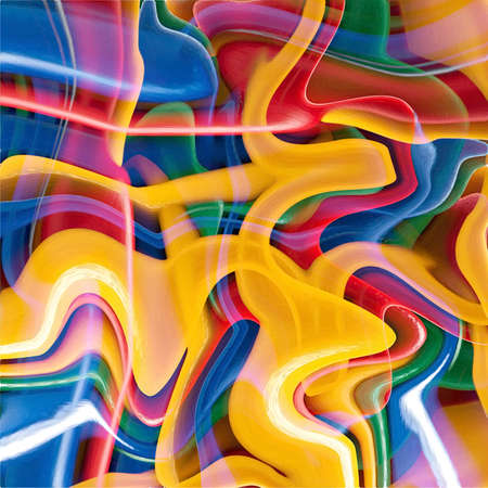 fantastic abstract fractal magic background and texture