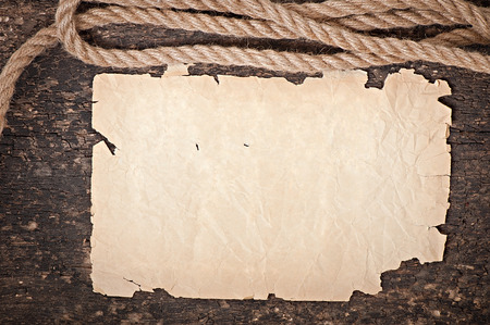 paper and rope photo