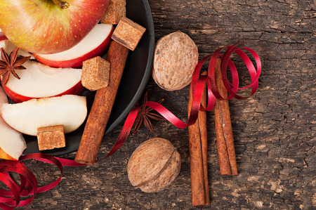 apple and spices  photo