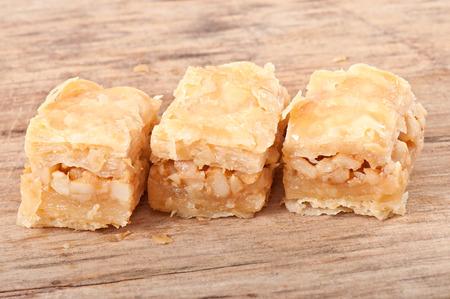 baklawa: Eastern dessert baklawa Stock Photo
