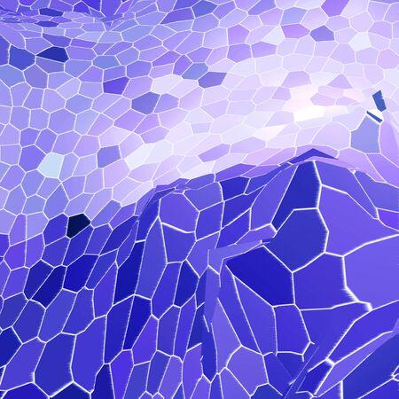 mosaic: Abstract mosaic, background illustration of mosaic.
