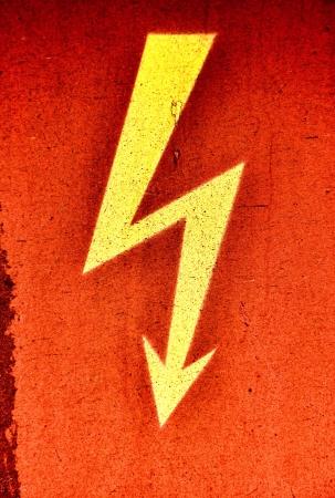 danger flash on railway carriage
