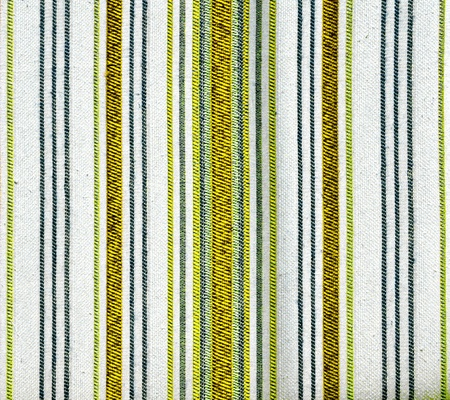 detail of cotton fabric stripes texture Stock Photo
