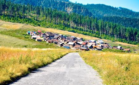 Gypsy settlement, Slovakia Paradise