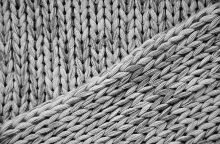 close up of beautiful wool pattern background