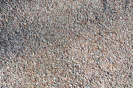 close up of gravel texture on the ground
