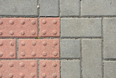 closeup of pavement surface texture photo