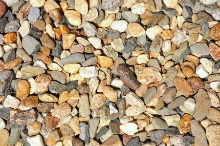 closeup of pavement surface texture