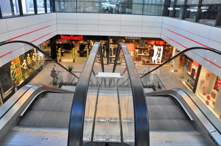 rep: PRAGUE, CZECH REP., JANUARY 13 2015: shopping center