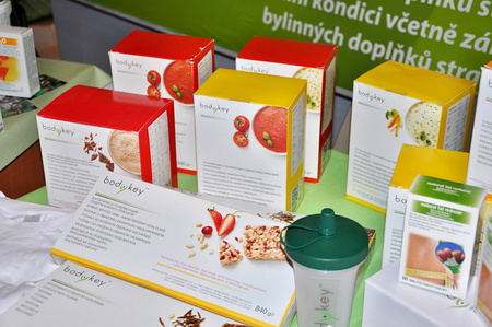 PRAGUE, CZECH REP., FEBRUARY 24, 2015: Amway products Editorial