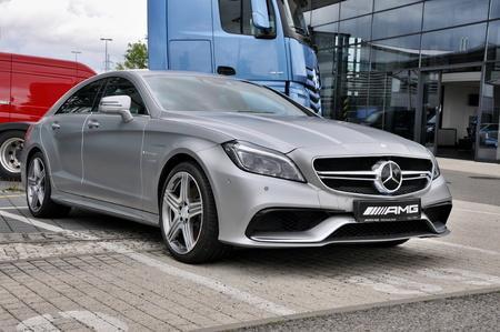 rep: PRAGUE, THE CZECH REP., NOVEMBER 14, 2015: Luxury car Mercedes-Benz