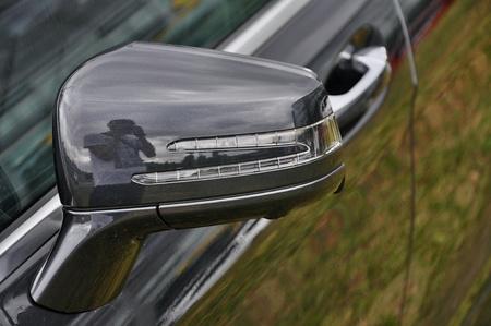 daimler: PRAGUE, THE CZECH REP., NOVEMBER 14, 2015: Luxury car Mercedes-Benz