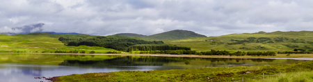 isles: Summer view of awesome Highlands of Scotland, Europe