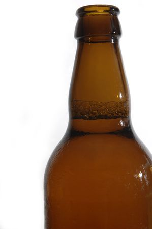 beer bottle isolated on white Stock Photo - 5704222