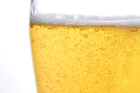 beer with bubbles close up Stock Photo - 5704843