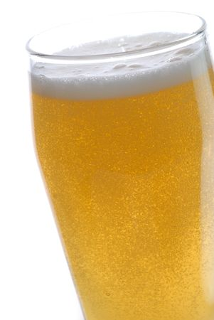 beer with bubbles close up Stock Photo - 5704583