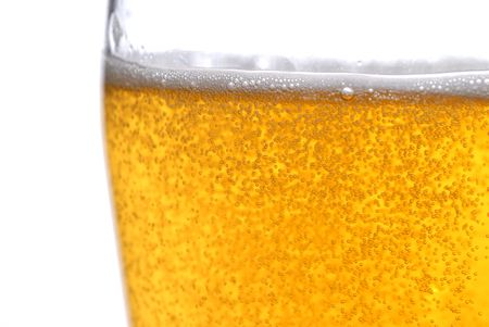 beer with bubbles close up Stock Photo - 5704783