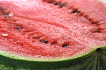 fresh sliced watermelon close up Stock Photo - 5704589