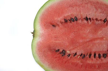 fresh sliced watermelon close up Stock Photo - 5705153