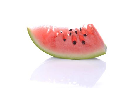 fresh sliced watermelon close up Stock Photo - 5704554