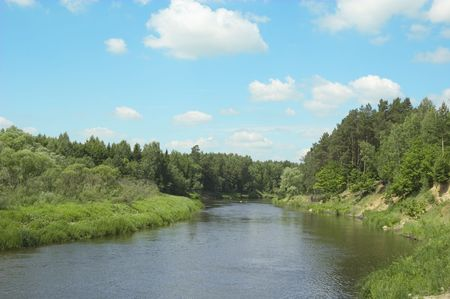 bank of the river photo