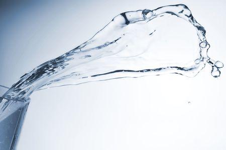 water splashing very close up photo