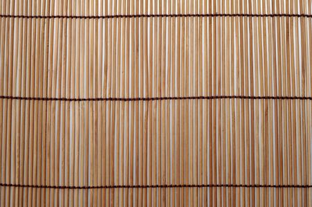 bamboo mat: Close up of bamboo placemat background