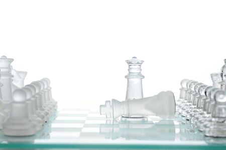 chess game, game end, victory or loss photo