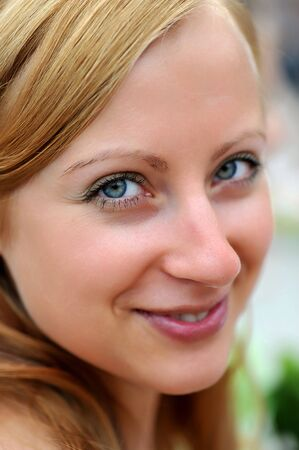 beautiful smiling  woman portrait Stock Photo - 7981064