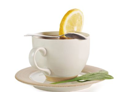 cup of tea with lemon and sugar Stock Photo - 6547308