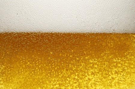 mug with beer close up photo