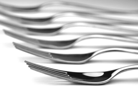 silverware ready to use close up photo