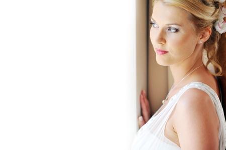 Studio portrait of beautiful stylish bride Stock Photo - 8653967