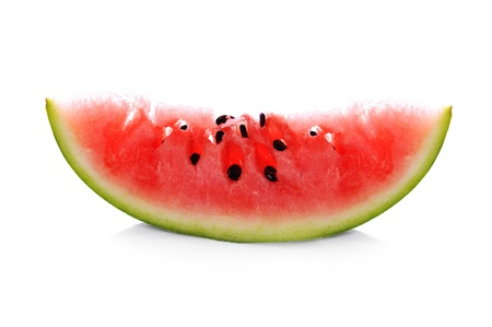 fresh sliced watermelon close up photo